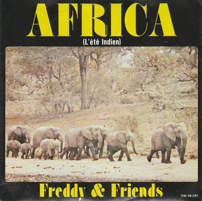 Freddy & Friends - Africa + Side walk (Vinylsingle)