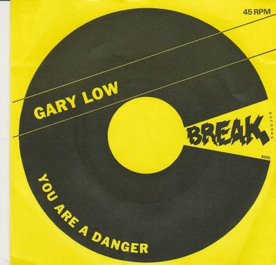 Gary Low - You are a danger + You are a danger instr. (Vinylsingle)