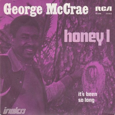 George McCrae - It's Been So Long + You Got To Know (Vinylsingle)