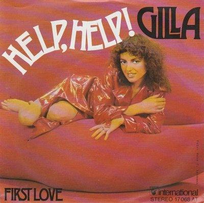 Gilla - Help help + First love (Vinylsingle)