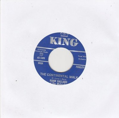 Hank Ballard - The Continental Walk + What Is This I See (Vinylsingle)