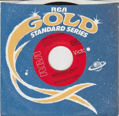 Harry Belafonte - Banana Boat + Jamaica farewell (Vinylsingle)