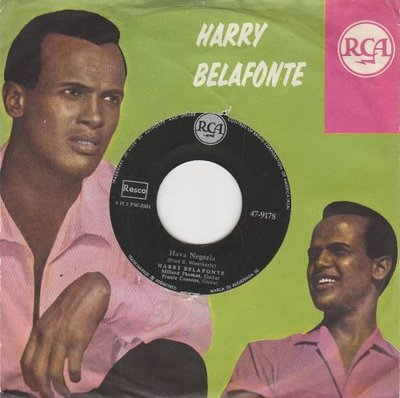 Harry Belafonte - Hava Negeela + Judy drownded (Vinylsingle)