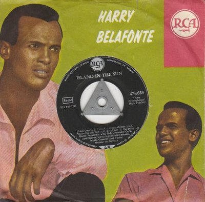 Harry Belafonte - Island in the sun + Coconut woman (Vinylsingle)