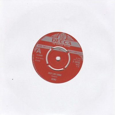 Heinz - Just like Eddie + Don't you knock at my door (Vinylsingle)