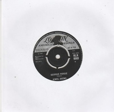 Jewel Akens - Georgie Porgie + Around the corner (Vinylsingle)
