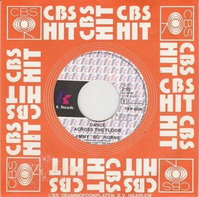 Jimmy Bo Horne - Dance across the floor + It's your sweet love (Vinylsingle)