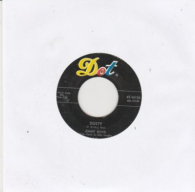 Jimmy Boyd - Dusty + Jambalaya (Vinylsingle)