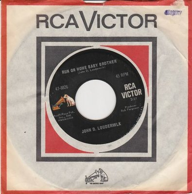 John D. Loudermilk - Run On Home Baby Brother + Silver Cloud Talkin' Blues (Vinylsingle)