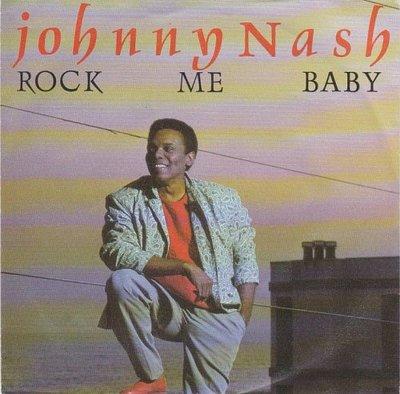 Johnny Nash - Rock me baby + Love theme (Vinylsingle)