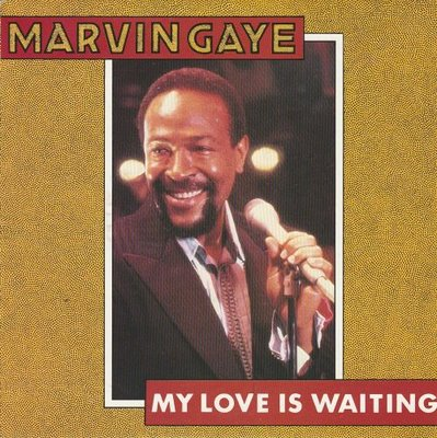 Marvin Gaye - My love is waiting + Rockin' after midnight (Vinylsingle)