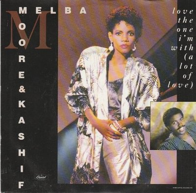 Melba Moore - Love The One I'm With + Don't Go Away (Vinylsingle)