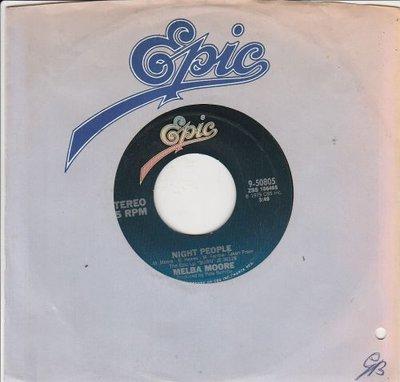Melba Moore - Night People + Hot And Tasty (Vinylsingle)