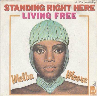 Melba Moore - Standing Right Here + Living Free (Vinylsingle)