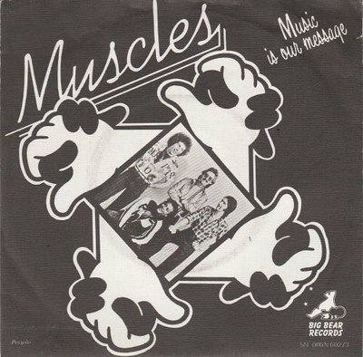 Muscles - Music Is Our Message + People (Vinylsingle)
