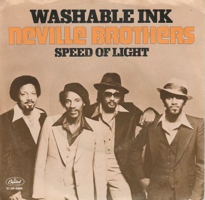 Neville Brothers - Washable Ink + Speed Of Light (Vinylsingle)