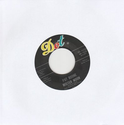 Pat Boone - Love me + Mister Moon (Vinylsingle)