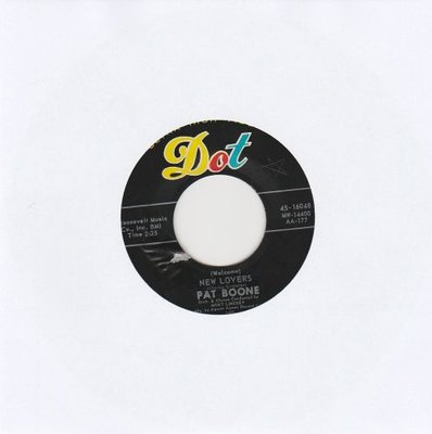 Pat Boone - New Lovers + Words (Vinylsingle)
