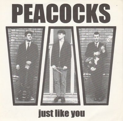 Peacocks / The Feebles - Just Like You + Hell Of Love (Vinylsingle)
