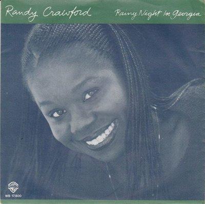 Randy Crawford - Rainy night in Georgia + Time for love (Vinylsingle)