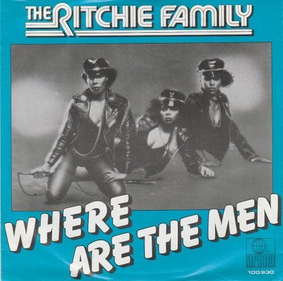 Ritchie Family - Were all the men + Bad reputation (Vinylsingle)