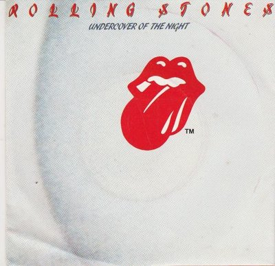 Rolling Stones - Undercover of the night + All the way down (Vinylsingle)