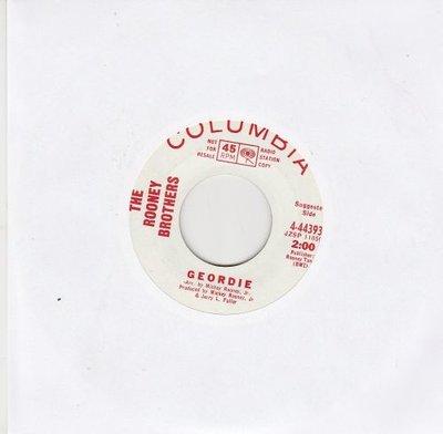 Rooney Brothers - Geordie + Just A Friend (Vinylsingle)