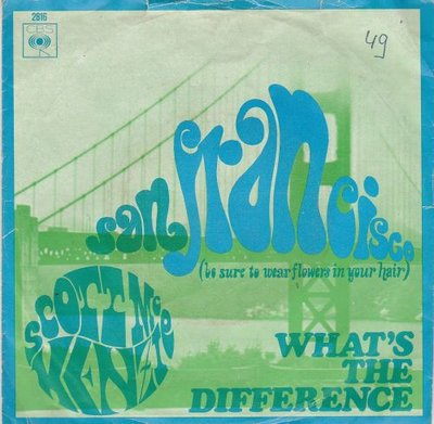 Scott McKenzie - San Francisco + What's the difference (Vinylsingle)