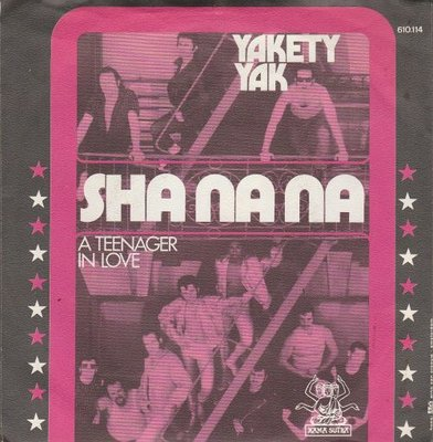 Sha Na Na - Yakety yak + A teenager in love (Vinylsingle)