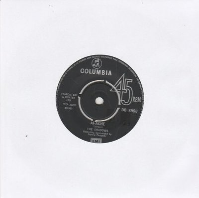 Shadows - Apache + Wonderful land + FBI (Vinylsingle)