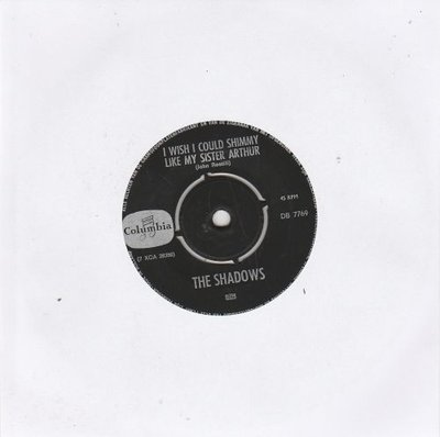 Shadows - War lord + I wish I could shimmy like my sister Arthur (Vinylsingle)