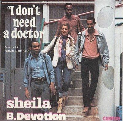 Sheila B. Devotion - I don't need a doctor + Hotel de la plage (Vinylsingle)