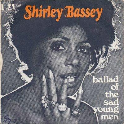 Shirley Bassey - Ballad o fthe sad young men + If I should find love again (Vinylsingle)