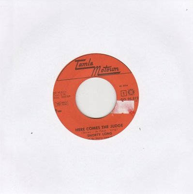 Shorty Long  - Here comes the judge + Sing what you want (Vinylsingle)