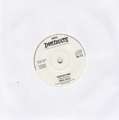 Small Faces - Itchycoo Park + My way of giving (Vinylsingle)