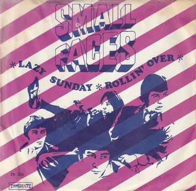 Small Faces - Lazy Sunday + Rollin' over (Vinylsingle)
