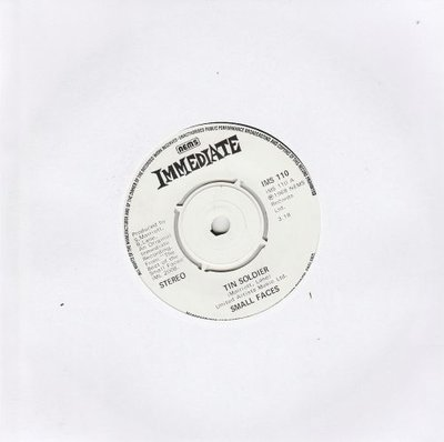 Small Faces - Tin soldier + I feel much better (Vinylsingle)