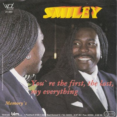 Smiley - You're the first the last my everyting + Memory's (Vinylsingle)