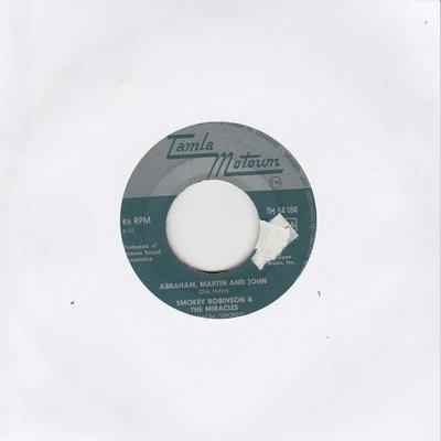 Smokey Robinson - Abraham. Martin and John + Much bettern off (Vinylsingle)