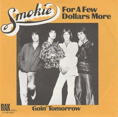 Smokie - For a few dollars more + Goin' tomorrow (Vinylsingle)
