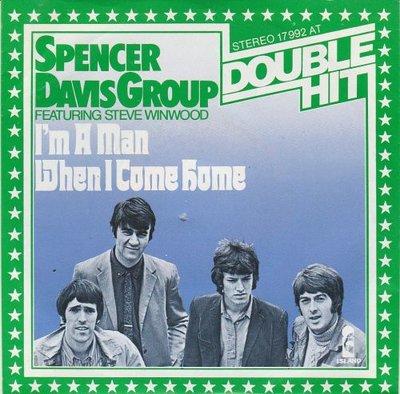 Spencer Davis Group - I'm a man + When I come home (Vinylsingle)