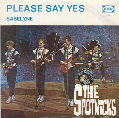 Spotnicks - Please say yes + Sabelyne (Vinylsingle)