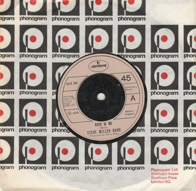 Steve Miller Band - Rock 'n' me + The Window (Vinylsingle)