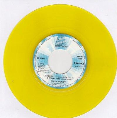 Stevie Wonder - Saturn + Ebony Eyes + All day sucker + Easy Goin' (Vinylsingle)