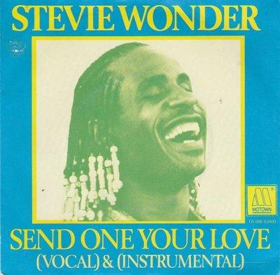 Stevie Wonder - Send one your love(instr.) (Vinylsingle)