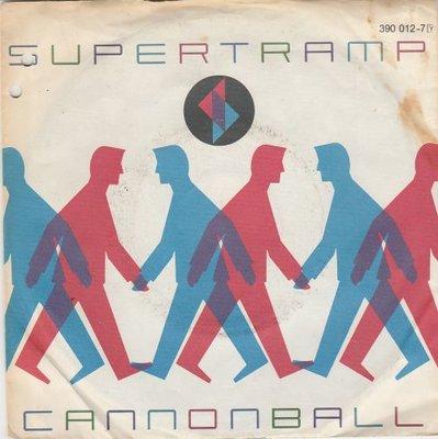 Supertramp - Cannonball + Ever open door (Vinylsingle)