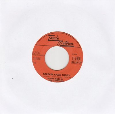 Supremes - Forever Came Today + Time Changes Things (Vinylsingle)