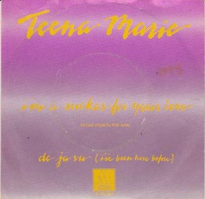 Teena Marie - I'm A Sucker For Your Love + De Ja Vu (Vinylsingle)