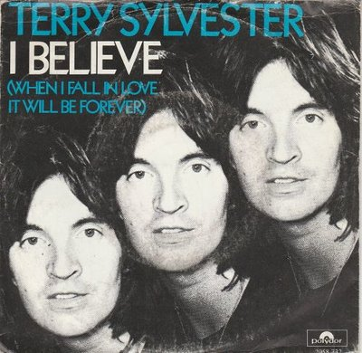 Terry Sylvester - I Believe + It's Too Late (Vinylsingle)