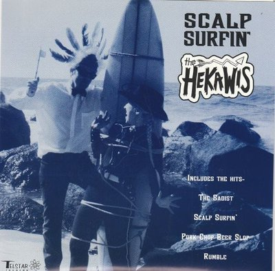 The Hekawis - Scalp Surfin' (EP) (Vinylsingle)